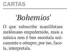 """""""Bohemios"""""""