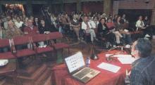 O experto Lois Seixo Castro traslado a decenas de persoas ao Lugo de Xoán Montes