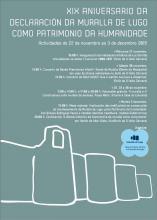 SOLO VOCES. Concerto XIX ANIVERSÁRIO DA DECLARAÇÃO DA MURALHA DE LUGO COMO PATRIMÔNIO DA HUMANIDADE