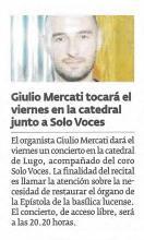 Giulio Mercati - Solo Voces